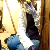 京都で「みつよばぁばの蔵出し絹いも」を使った絶品やきいもとベーグルの販売をしました。