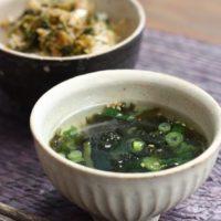 レシピを書かなくなった理由*和風の中華スープ